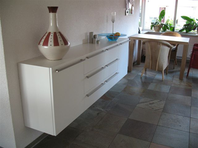 Erik - Keuken witte lak ...